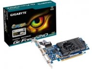 GIGABYTE NVidia GeForce 210 1GB 64bit GV-N210D3-1GI
