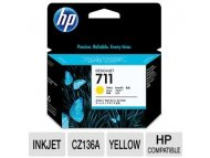 HP No.711 Yellow Designjet Ink Cartridge CZ132A