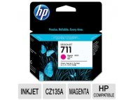 HP No.711 Magenta Designjet Ink Cartridge CZ131A