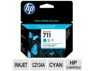 HP No.711 Cyan Designjet Ink Cartridge CZ130A