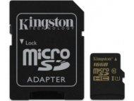 KINGSTON UHS-I MicroSDHC 16GB + Adapter SDCA10 16GB
