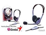 GENIUS Slušalice sa mikrofonom HS-04S
