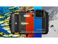 NIKON CoolPix AW130 Vodootporan, Wi-Fi, GPS, NFC