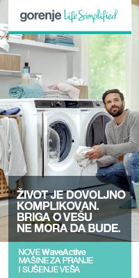 Gorenje masina za pranje i susenje vesa - WaveActive generacije