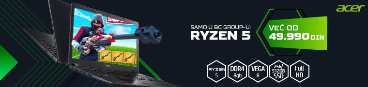 Acer Ryzen 5 specijalna ponuda