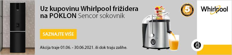 WHIRLPOOL  frizider + pokon