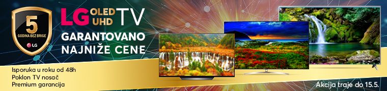 LG TV 5 godina garancije