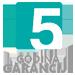 5 Godina garancija