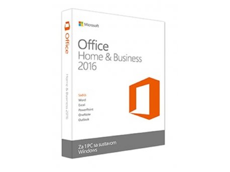 MICROSOFT OFFICE HOME AND BUSINESS 2016 32/64 ENGLISH CEE ONLY DVD