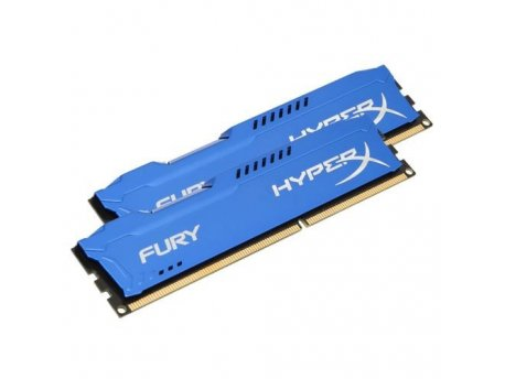 KINGSTON DIMM DDR3 16GB (2x8GB kit) 1866MHz HX318C10FK2/16 HyperX Fury Blue