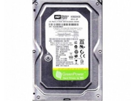 WESTERN DIGITAL 500GB 3.5'' SATA II 32MB IntelliPower WD5000AVDS AV-GP (Green Power) +