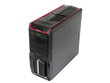 BLUEBERRY BC-G52-560 Miditower Gamer Case G52, PSU-560, 2xUSB+Audio+Fan Controller, Card Reader