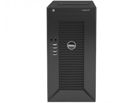 DELL PowerEdge T20 Xeon E3-1225v3 4-Core 3.2GHz (3.6GHz) 4GB 1TB 3yr NBD (DES03638)