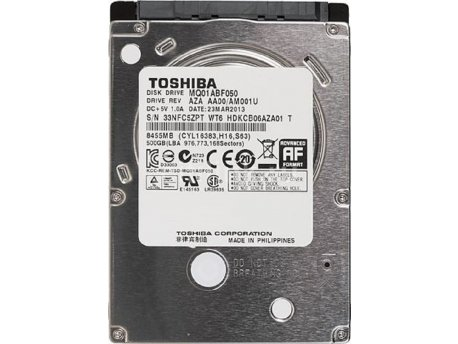 TOSHIBA NOT SATA3 500GB 2.5'' MQ01ABF050