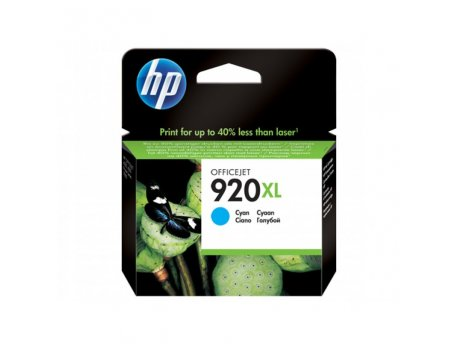 HP No.920XL Cyan Officejet Ink Cartridge (CD972AE)