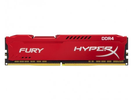 KINGSTON DIMM DDR4 8GB 2400MHz HX424C15FR2/8 HyperX Fury Red