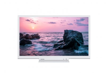 TOSHIBA 24W1764DG LED  HD READY  DVB-T2  WHITE