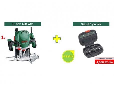 bosch zeleni alat pof 1400 ace povrsinska glodalica i set od 6 glodala gratis 060326c820 cena. Black Bedroom Furniture Sets. Home Design Ideas