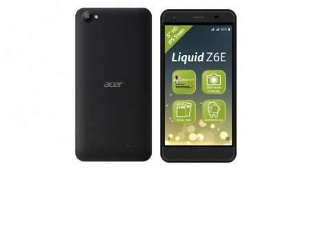 ACER Liquid Z6E DS Black Dual Sim