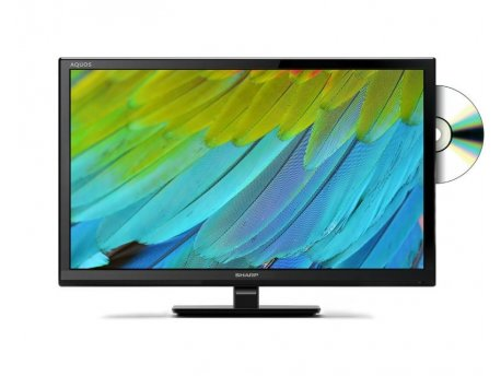 SHARP LC-24DHF4012E digital LED TV + DVD Player
