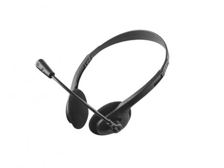 TRUST Ziva Chat Headset crni (21517)