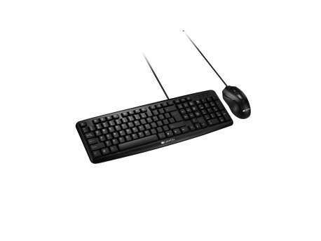 CANYON Classic Wired Combo Set - YU Keyboard And Mouse (CNE-CSET1-AD)