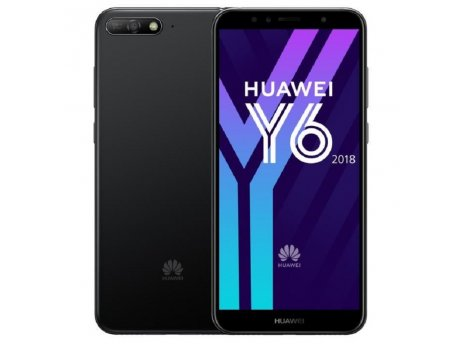 HUAWEI Y6 (2018) DS crna