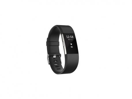 FitBit Charge 2 Black Silver S (FB407SBKS-EU)