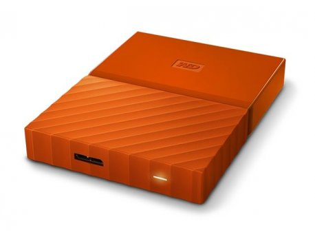 WESTERN DIGITAL HDD EXT WD My Passport Orange 1TB (WDBYNN0010BOR-WESN)