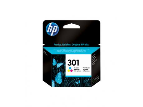 HP No.301 Tri-color Ink Cartridge CH562EE