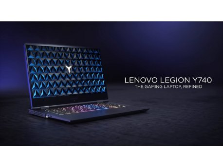 LENOVO Legion Y740-15 (Black) Full HD IPS, i7-9750H, 16GB, 1TB + 256GB SSD, GeForce RTX 2060 6GB (81UH002NYA)
