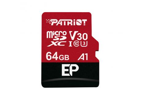 PATRIOT Micro SDXC 64GB Patriot Extreme Performance A1 Series class 10 PEF64GEP31MCX
