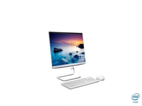 LENOVO IdeaCentre A340-22 All-In-One (White) Pentium 5405U 2.3GHz/2MB, 4GB, 1TB-HDD , 21.5'' FHD, DVDRW,  DOS (F0EB006URI)