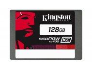 KINGSTON 128GB 2.5'' SATA III SKC400S37/128G 7mm SSDNow KC400