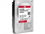 WESTERN DIGITAL 6TB 3.5'' SATA III 128MB 7.200rpm WD6002FFWX Red Pro