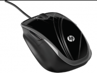 HP 5-Button Optical Comfort Mouse Black (BR376AA)