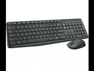 LOGITECH Bežična tastatura i miš MK235 (US)