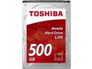 TOSHIBA L200 series 500GB 2.5, SATA3, 8MB, 5.400rpm, HDWK105UZSVA