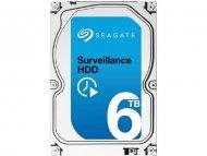 SEAGATE 6TB 3.5'' SATA III 128MB ST6000VX0001 Surveillance HDD