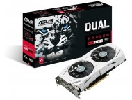 ASUS Dual Radeon™ RX 480 OC edition 4GB GDDR5 with ASUS Auto-Extreme Technology and VR-friendly HDMI ports