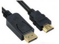 FAST ASIA Kabl DisplayPort (M) - HDMI (M) 1.8m crni