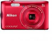 NIKON Coolpix A300 Crveni digitalni fotoaparat
