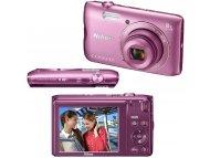 NIKON Coolpix A300 Pink digitalni fotoaparat