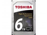 TOSHIBA 6TB 3.5 inch SATA III 128MB 7.200rpm HDWE160UZSVA X300 series bulk