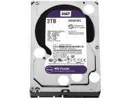 WESTERN DIGITAL 2TB 3.5 inch SATA III 64MB IntelliPower WD20PURZ Purple