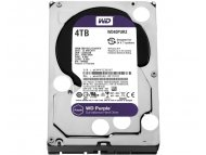 WESTERN DIGITAL 4TB 3.5 inch SATA III 64MB IntelliPower WD40PURZ Purple
