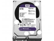 WESTERN DIGITAL 6TB 3.5 inch SATA III 64MB IntelliPower WD60PURZ Purple