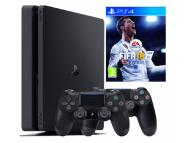 SONY PlayStation PS4 1TB + extra Dualshock + FIFA 2018