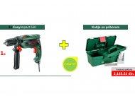 BOSCH ZELENI ALAT EasyImpact 550 vibraciona busilica + kutiju sa priborom GRATIS 0603130020