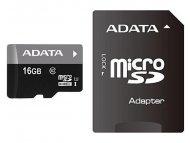 ADATA UHS-I MicroSDHC 16GB class 10 + adapter AUSDH16GUICL10-RA1